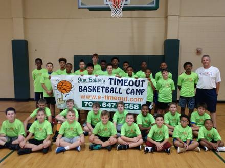 Basketball Camp, Timeout Basketball Camp, Jim Baker