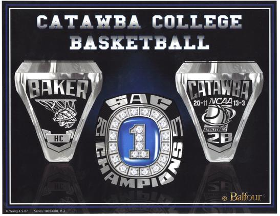 Catawba Coach Jim Baker